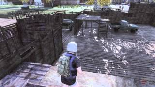 h1z1 How To Safely Store A Car In A Base While Solo!