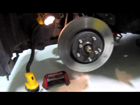 2011 tC: How to Remove Brake Rotors by Scion Edge