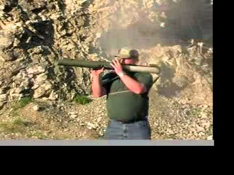 Firing The 66mm LAWS Rocket Launcher