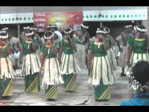 TOKELAU Tournament in Nukunonu 2013 part 1