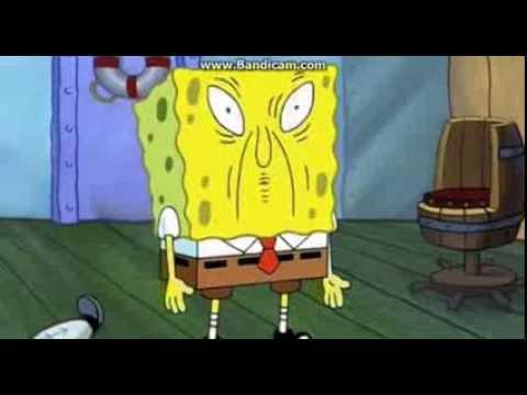 Spongebob Funny Face