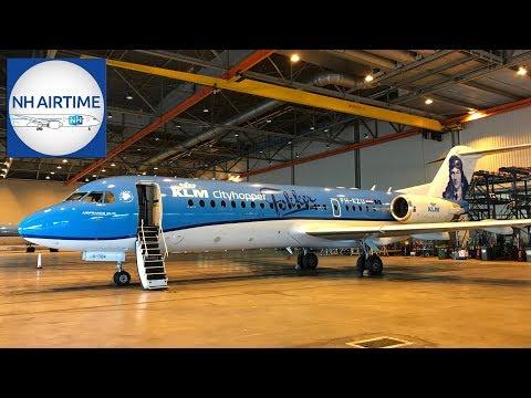 NH AIRTIME S03E02 (NL) | Afscheid van KLM's Fokker 70
