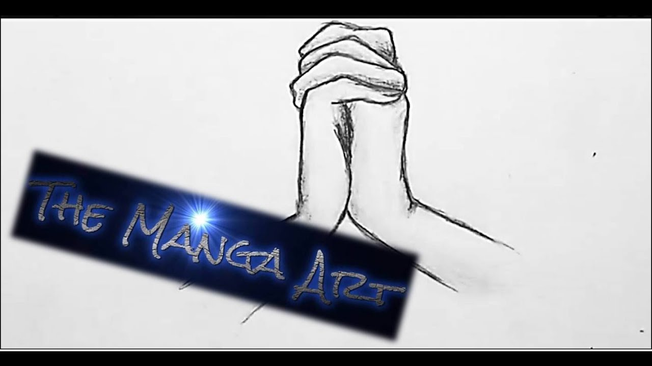 Hands Together Drawing How to Draw Manga Hands in