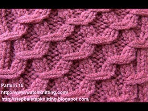Как вязать двухцветный шарф спицами
