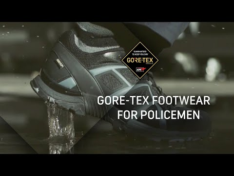 Storm Freerun featuring Tactical GORE-TEX® Footwear for policemen...
