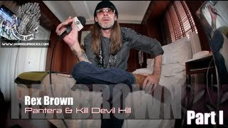 "Rex Brown (Part 1): ""Official Truth, 101 Proof: The Inside Story Of Pantera"" & Dimebag's Legacy!"