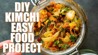OUR EASY KIMCHI RECIPE | VEGAN | FOODIE PROJECT