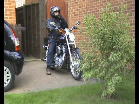 Harley Davidson Sportster 883 Custom (2008) Video