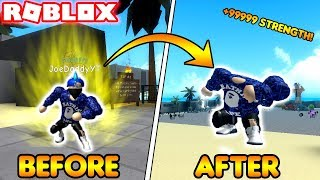 HOW TO INSTANTLY GET MAX STRENGTH! (ROBLOX Weight Lifting Simulator 3)