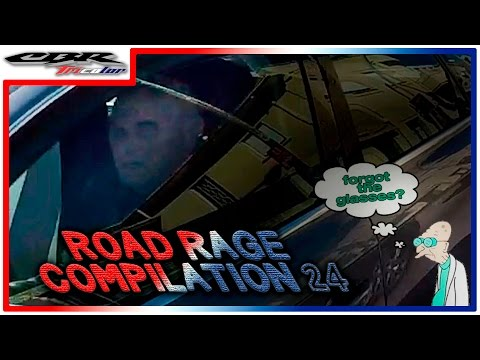 ☠ ROAD RAGE COMPILATION 24 - DAILY OBSERVATIONS - JANUARY 2017