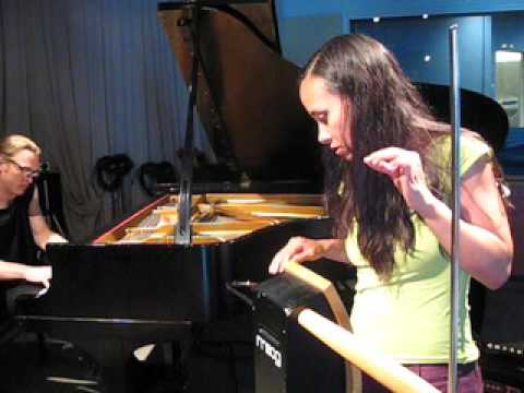 Theremin Virtuoso Pamelia Kurstin and Pianist Pete Drungle Live in Studio 360