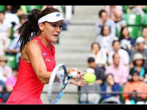 2015 Toray Pan Pacific Open Semifinal | Agnieszka Radwanska vs Dominika Cibulkova | WTA Highlights