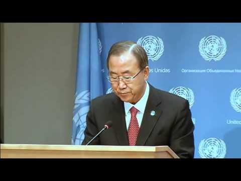 Secretary-General Addresses Press Conference on Syria