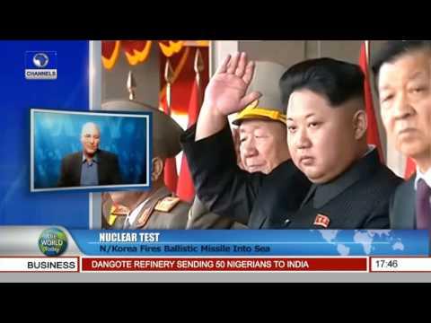 World Today: North Korea Fires Ballistic Missile Into Sea Pt.2