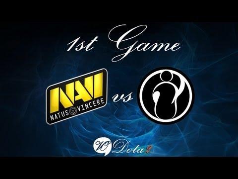 Na'Vi vs IG - Финал 1 Игра (The International 2) Русские Комментарии
