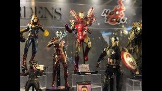 Avengers Endgame Hot Toys exhibition Hong Kong HD