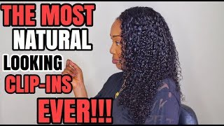 SIS! AFFORDABLE AND NATURAL LOOKING CLIP INS??!!! | FT. CURLS CURLS