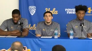 Trump Helps 3 UCLA Basketball Players Accused of Shoplifting in China Avoid Jail