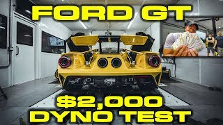 2018 Ford GT Dyno Results with $2,000 in cash on the line
