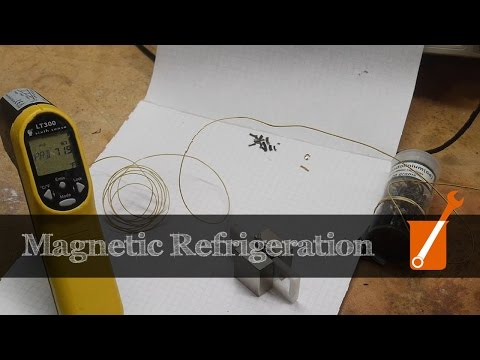 Magnetic refrigeration: How does that work?!