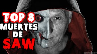 TOP 8 MUERTES DE SAW (JHON KREMER- JIGSAW)