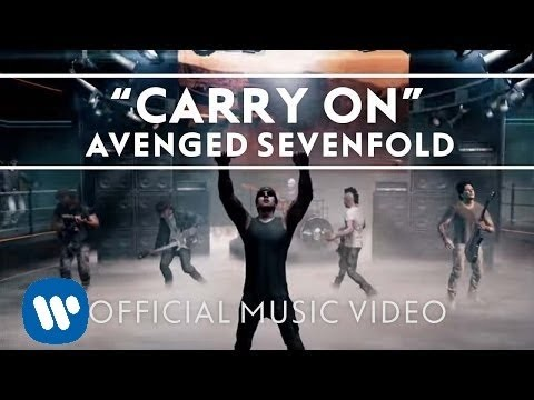 Avenged Sevenfold Carry On featured in Call of Duty: Black Ops 2 Official Music Video