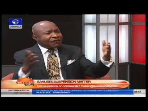 Jonathan Reserves The Right To Suspend Sanusi- Legal Practitioner  Prt4