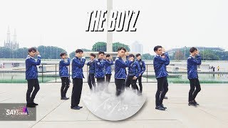[KPOP IN PUBLIC ONE TAKE CHALLENGE] THEBOYZ - NO AIR Dance cover by SAYBOYZ