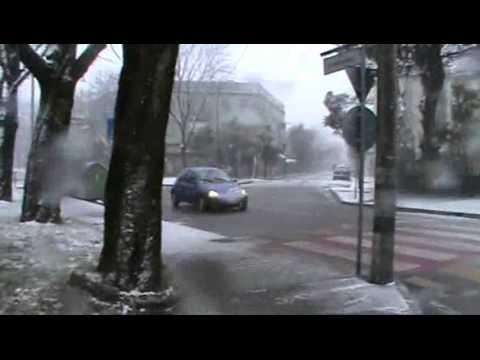venezia marghera neve e vento