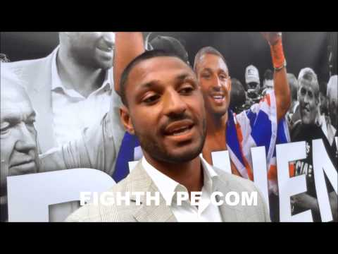 KELL BROOK SAYS HE DESERVES RESPECT I SHOWED THAT IM AN ELITE FIGHTER AND CHAMPION