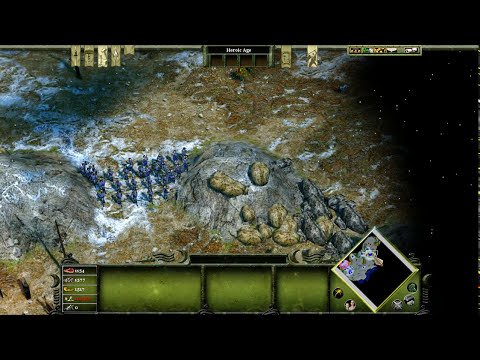 M 1 - A Lost People. Age of Mythology: Extended Edition. The Titans Campaign. Difficulty - Titan.