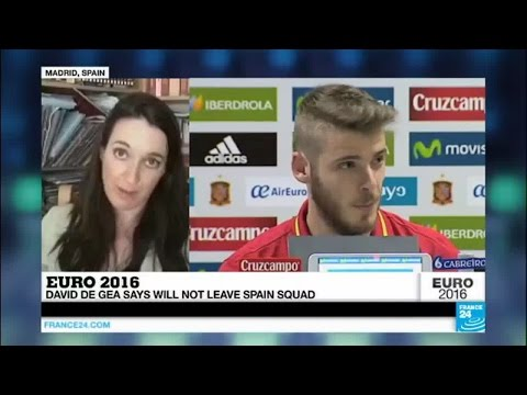 EURO 2016: Spain and Manchester United goalkeeper David De Gea implicated in a sex scandal