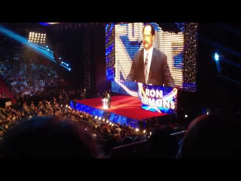 Ron Simmons DAMN! @ Hall Of Fame 2012