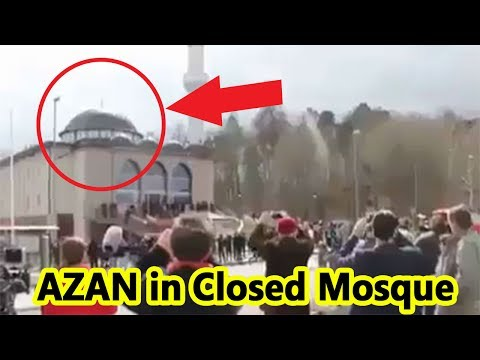 Miracle of Allah | AZAN VOICE FROM CLOSED MOSQUE | WoooooooW | Amazing Please must watch and share