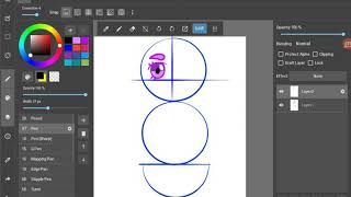 How to copy,paste and flip in medibang