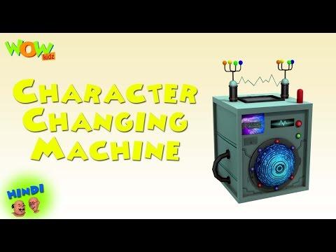 Character Changing Machine - Motu Patlu in Hindi - 3D Animation Cartoon for Kids thumbnail