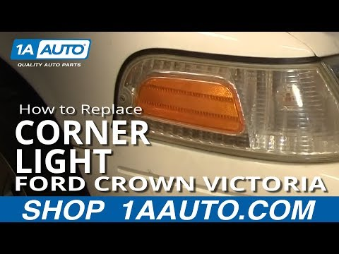 How To Install Replace Side Marker Light Replacement Ford Crown Victoria 98-08 1AAuto.com