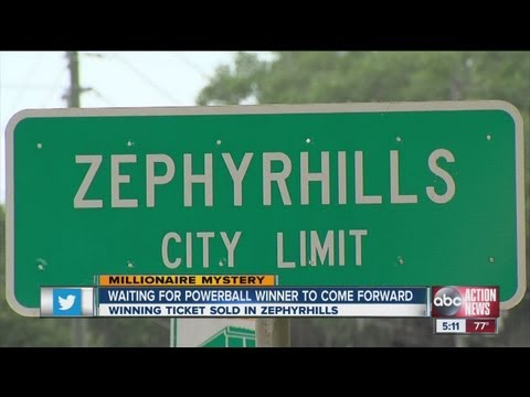 Zephyrhills, Florida waits for Powerball winner to come forward