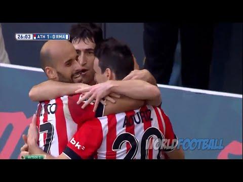Gols - Athletic Bilbao 1 x 0 Real Madrid - La Liga 2015 - 07/03/2015
