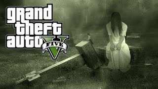 Easter Egg da Mulher Fantasma no GTA 5: Ghost Lady no Grand Theft Auto V - Xbox 360 / PS3