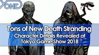 Tons of New Death Stranding Character Details Revealed at Tokyo Game Show 2018