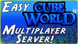 How to Play Cube World with Friends! - Multiplayer Server Setup Tutorial
