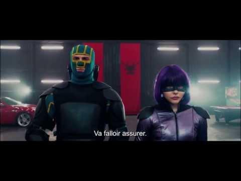 KICK-ASS 2 – Bande annonce officielle VOST – Le 21 Août au cinéma