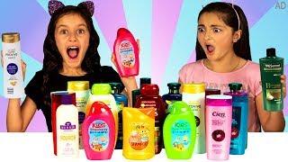 Don't Choose the Wrong Shampoo Slime Challenge!!!