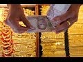 GOLD In CHINATOWN BANGKOK THAILAND   Yaowarat เยาวราชและพาหุรัด  Is Famous For Many Gold Shops
