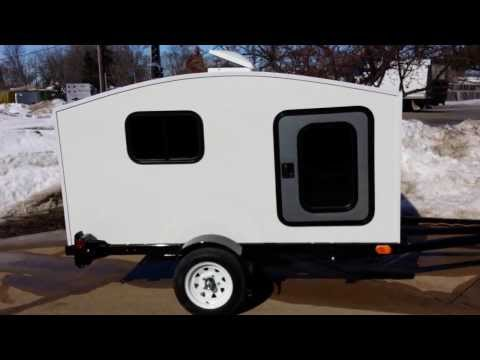 Small WonaDayGo Camper Trailer For Sale From SaferWholesale.com Mini Camping Teardrop