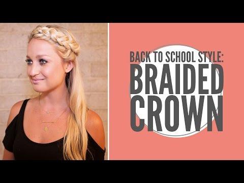 Back To School Crown Braid
