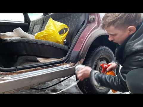 Оцинковка кузова автомобиля своими руками цинкарь