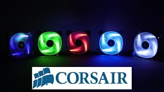 Unboxing Corsair AF120 Led Blue FAN (HD)