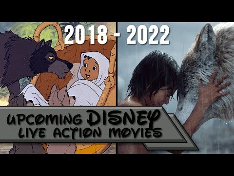 Upcoming Disney Live Action Movies 2018 - 2022